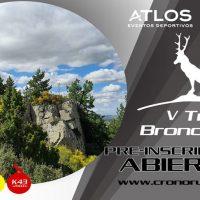 pre inscripciones V trail bronchales